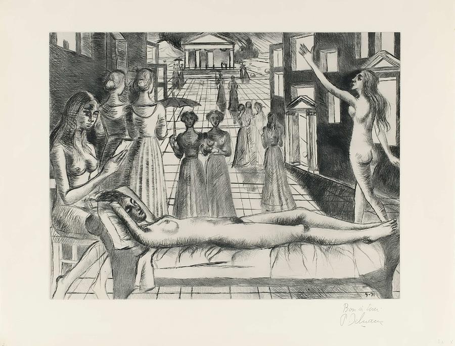 Vanad  by Paul Delvaux