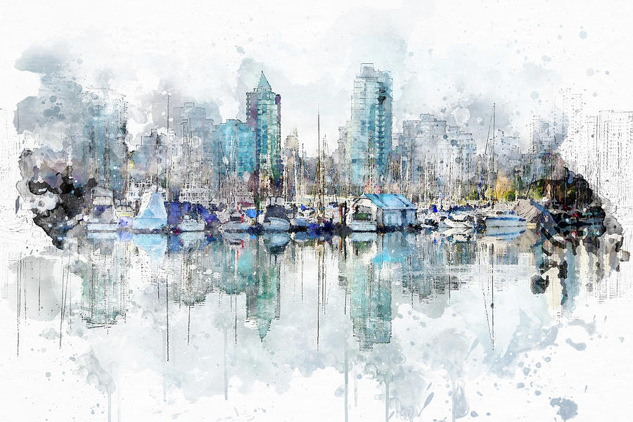 Vancouver Morning by Marilyn Wilson