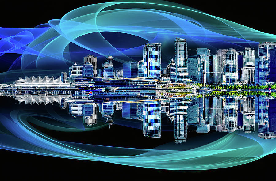 Vancouver Reflections by Gordon Engebretson