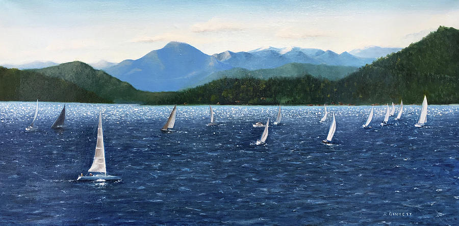 Vancouver Regatta by Richard Ginnett