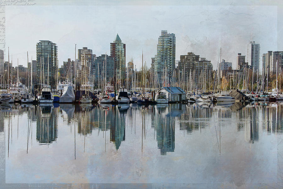 Vancouver Skyline by Marilyn Wilson