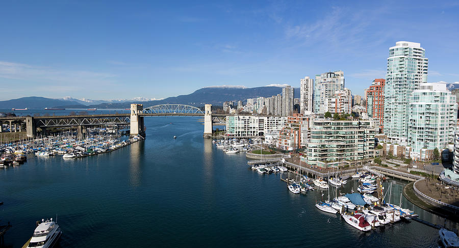 Vancouver Waterfront Panorama Photograph by Dan prat