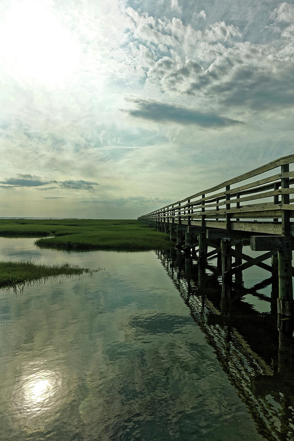 Vanishing Boardwalk at Gray's Beach by Doolittle Photography and Art