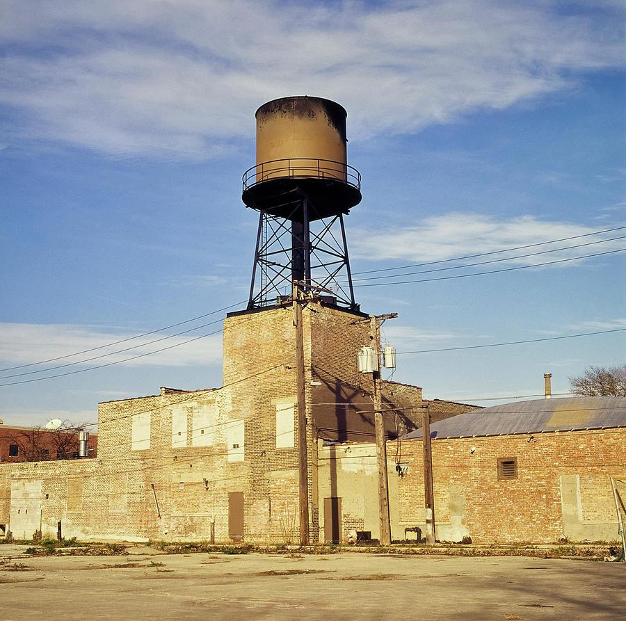 Vanishing Water Tanks Of Chicago City Photograph by Fstoplight
