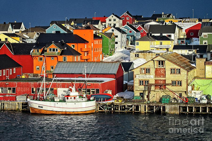 Vardo Town Norway by Martyn Arnold