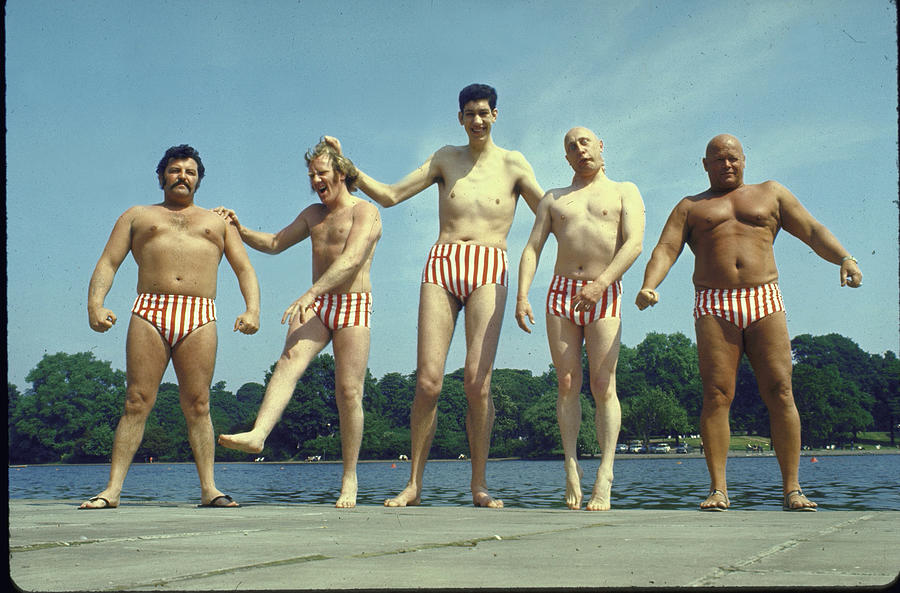 Varied Assortment Of Male Models Who Wor Photograph by Loomis Dean