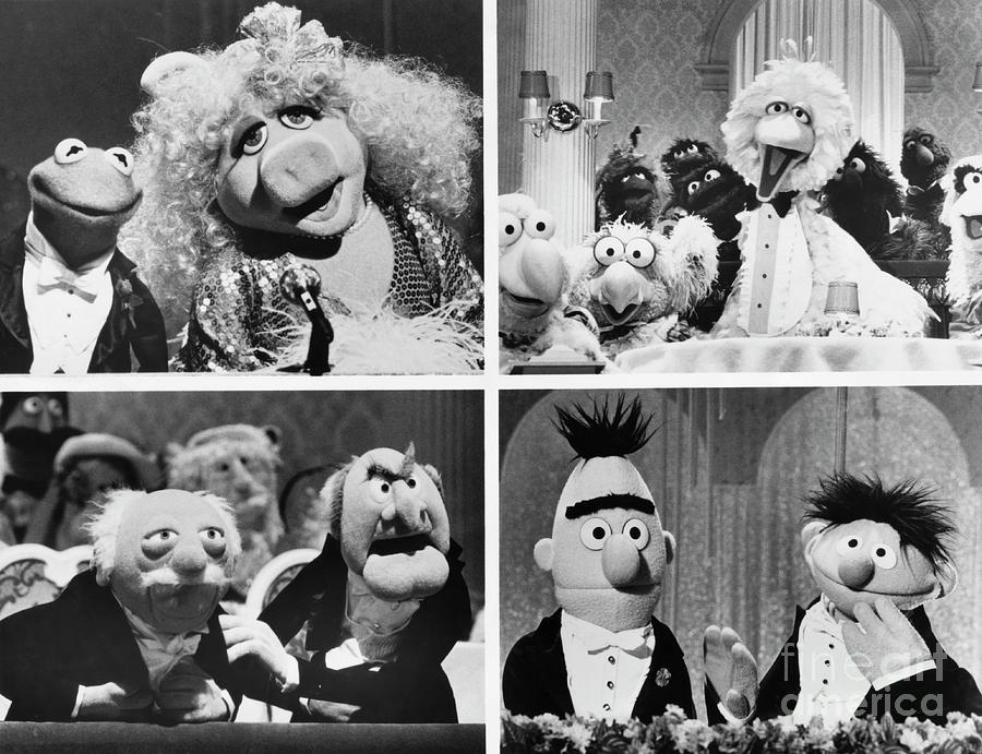 Various Muppets Scenes Photograph by Bettmann