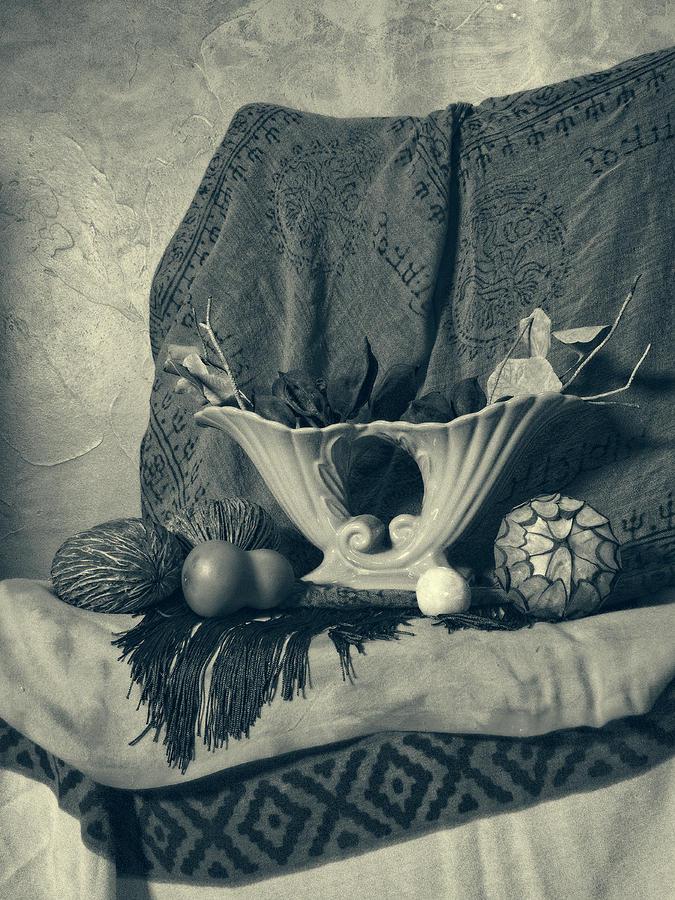 Vase and Orgnics Vintage by Sandra Selle Rodriguez