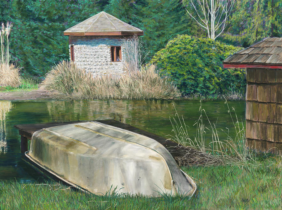 Vashon Island Pond by Nick Payne