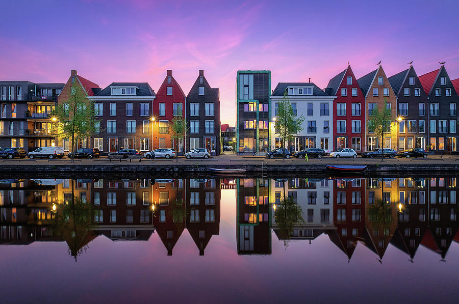 Vathorst reflections by Mario Visser