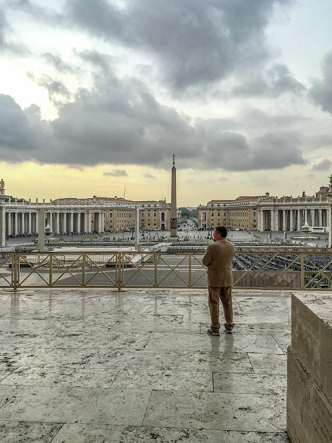 Italy Photograph - Vaticani View by Joseph Yarbrough