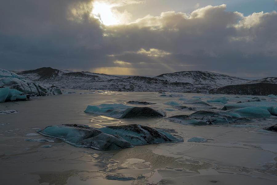 Vatnajokull Glacier 1 by Dubi Roman