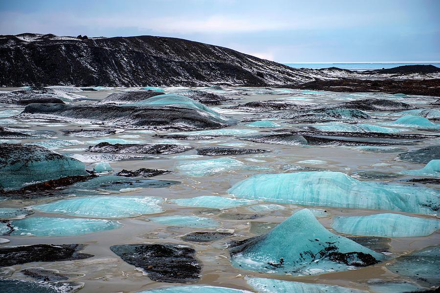 Vatnajokull Glacier 3 by Dubi Roman