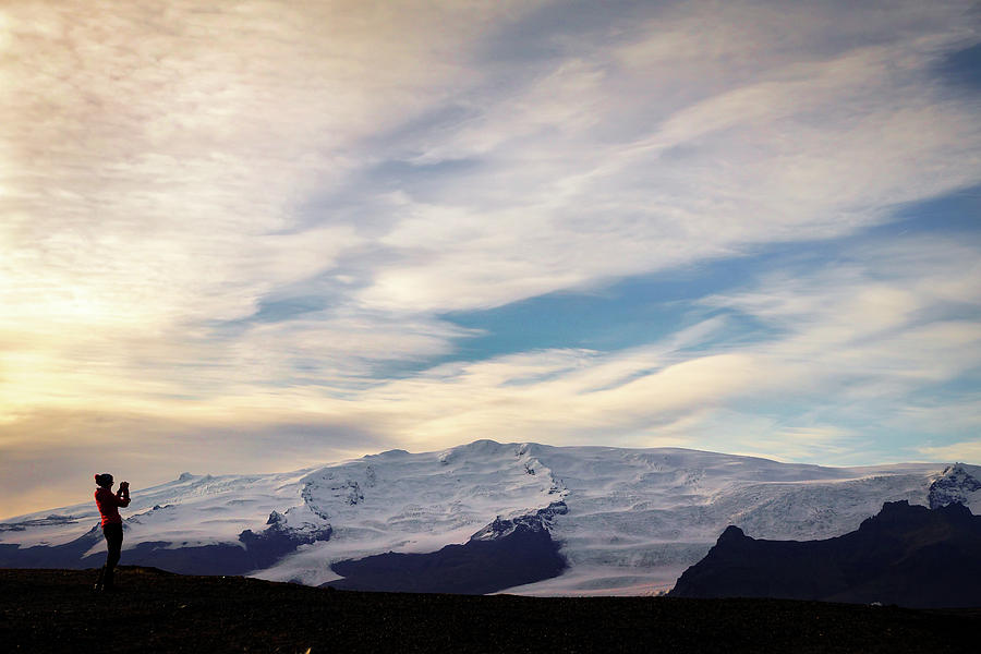 Iceland Photograph - Vatnajokull View by Framing Places