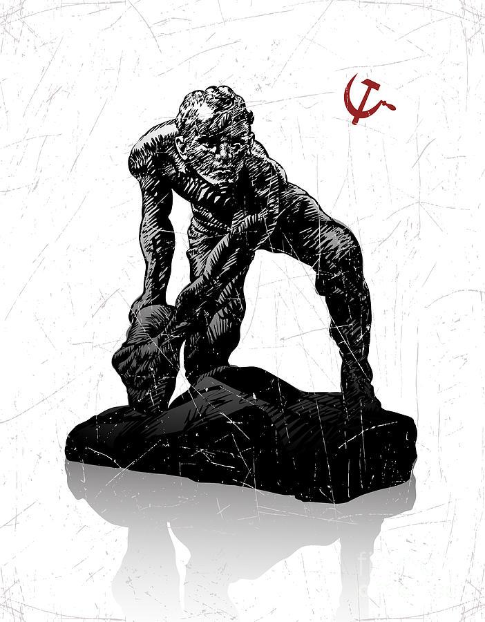 Symbol Digital Art - Vector Illustration Of Symbol Of by Farferros