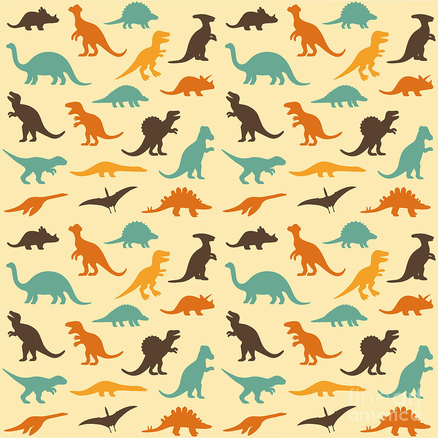 Raptor Digital Art - Vector Set Silhouettes by Eveleen