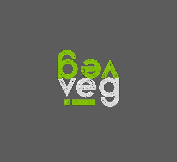 VEG stacked with i - green and gray by Charlie Szoradi