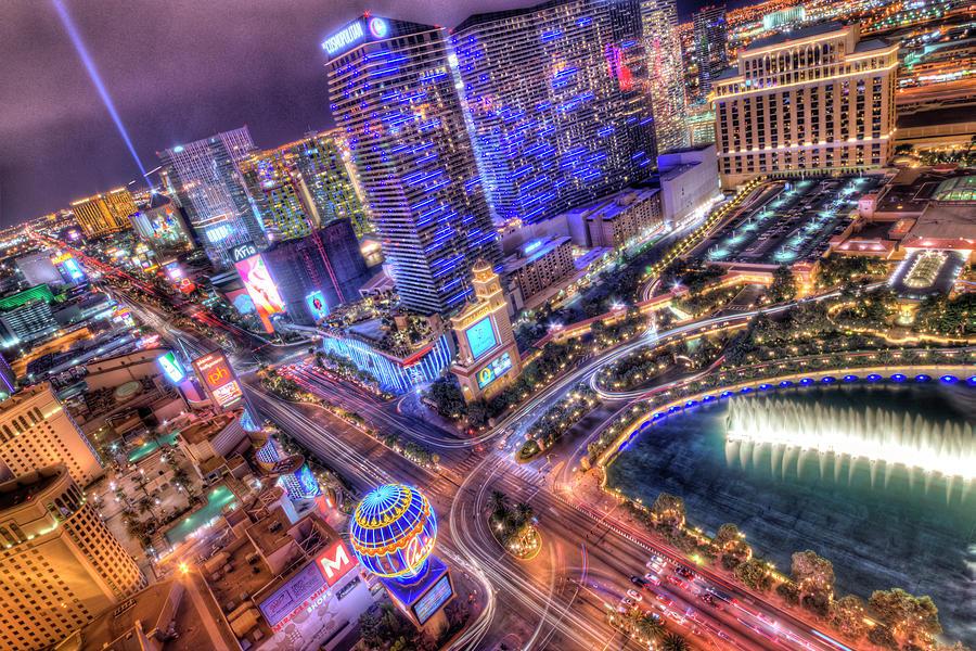 Las Vegas Photograph - Vegas II by Moises Levy