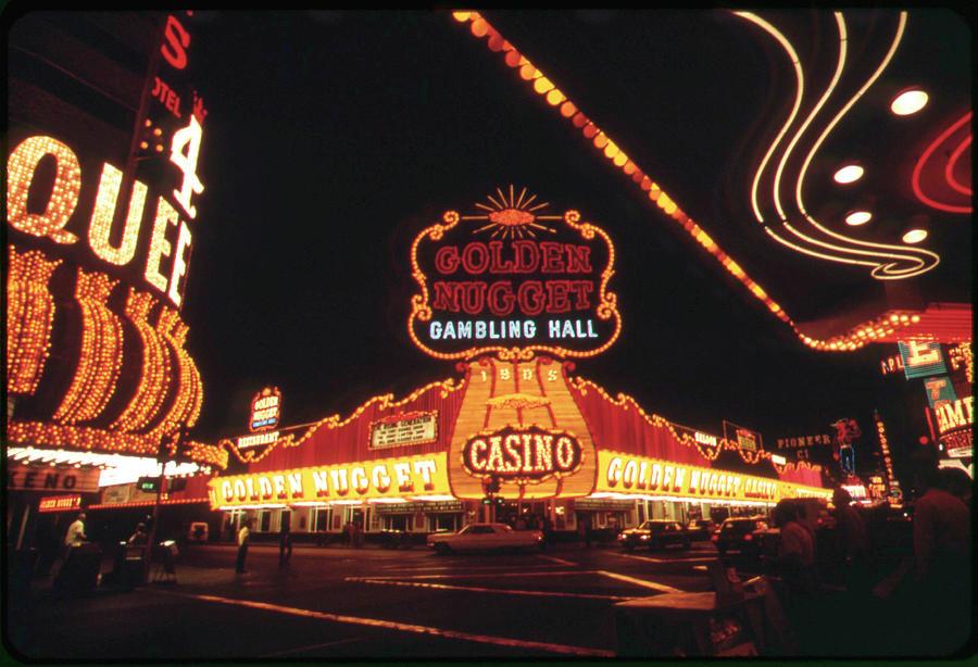 Vegas Lights Photograph - Vegas Lights by American Eyes