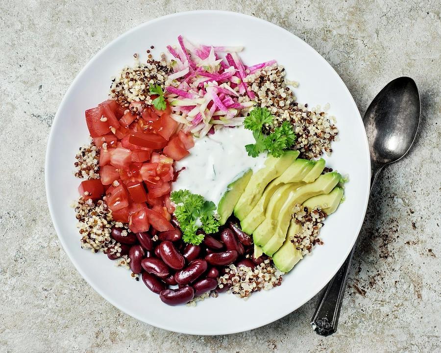 Vegetarian Dish Photograph by Claudia Totir