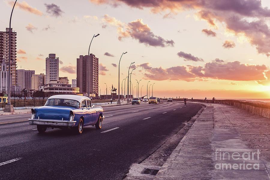 Vehicles On Road Against Sky Photograph by Sven Hartmann / Eyeem