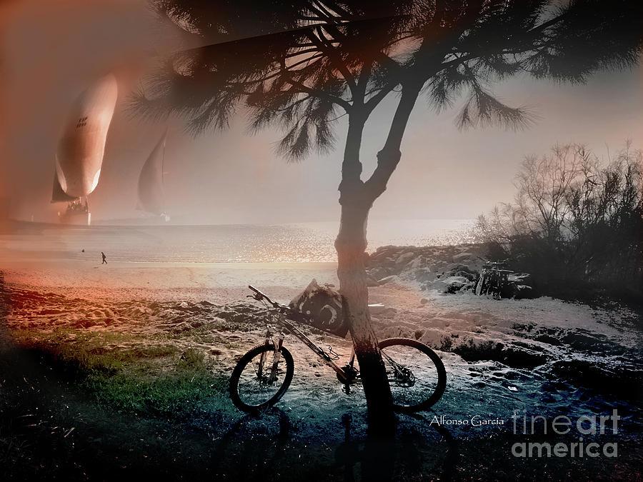Velas y Bici by Alfonso Garcia