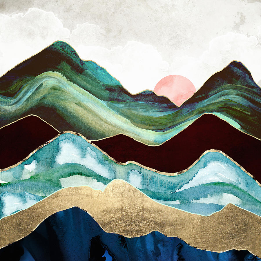 Velvet Mountains by Spacefrog Designs