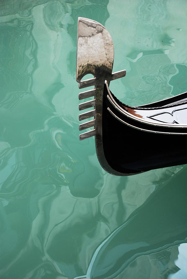 Venetian Boat Photograph by Remo Steuble - Switzerland