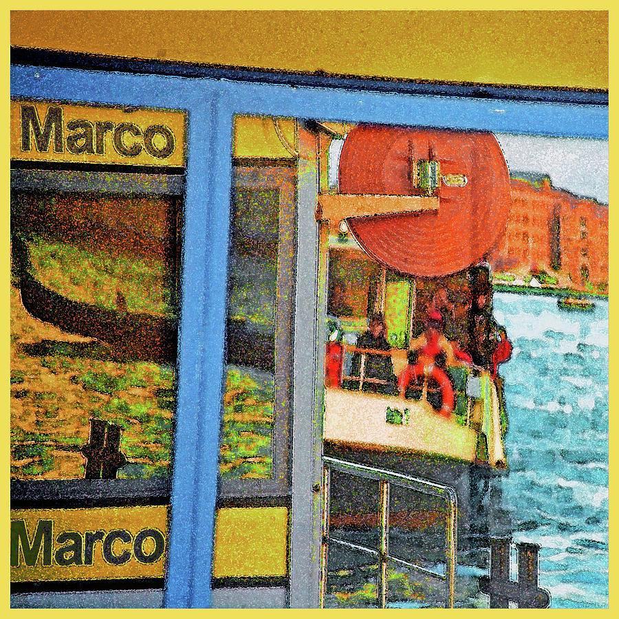 Venetian Bus Stop by Guy Ciarcia