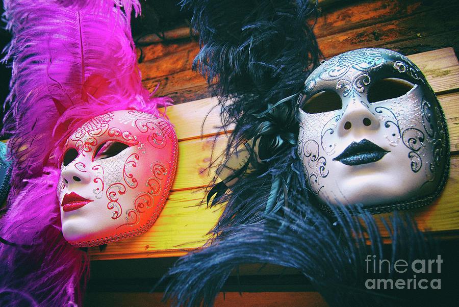 Venetian Carnival Masks by Carlos Alkmin