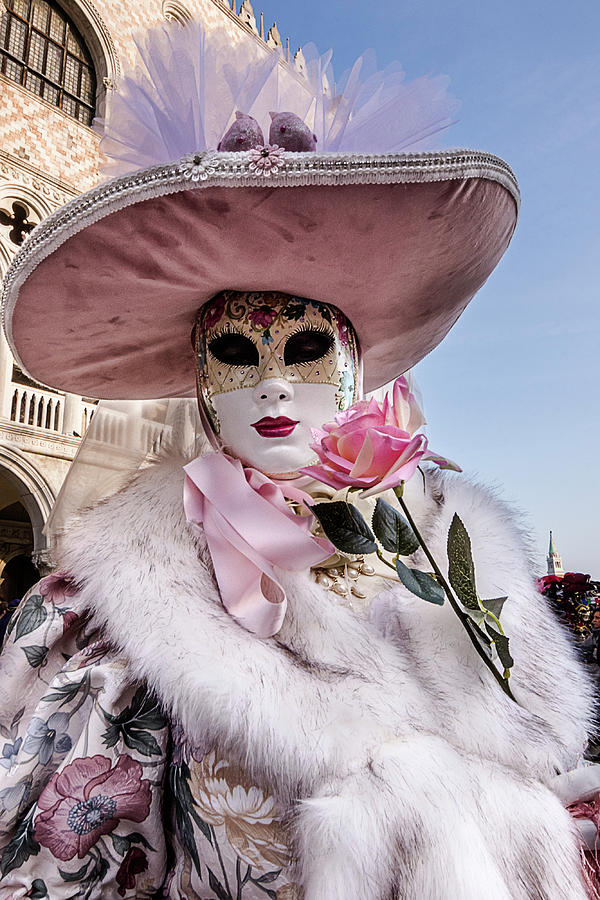 Venetian Mask 2019 007 by Wolfgang Stocker