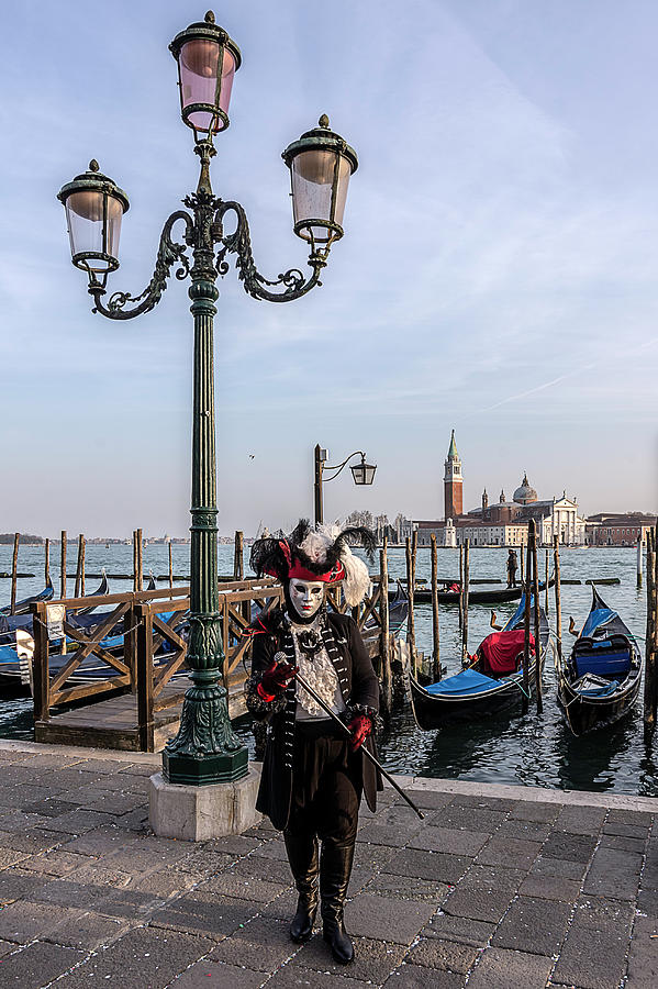 Venetian Mask 2019 008 by Wolfgang Stocker