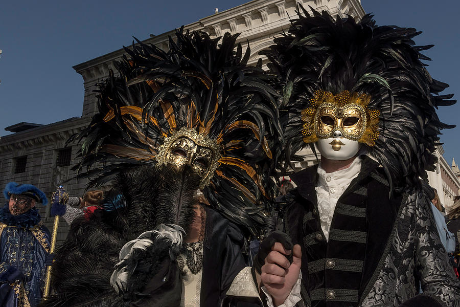 Venetian Mask 2019 009 by Wolfgang Stocker