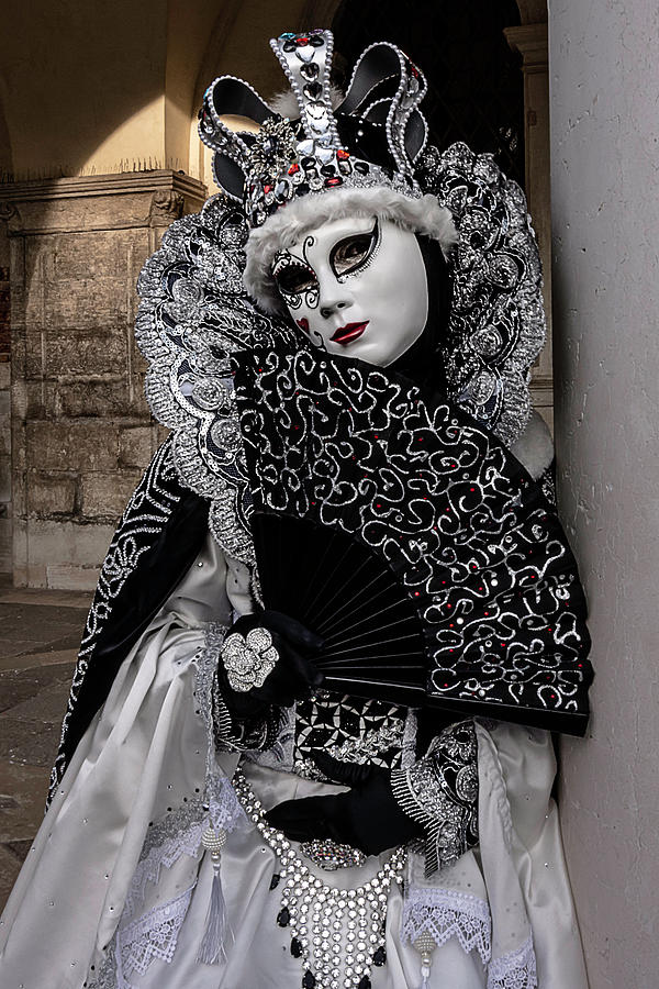 Venetian Mask 2019 010 by Wolfgang Stocker