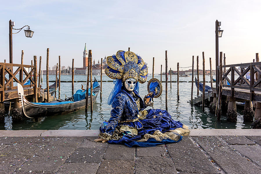 Venetian Mask 2019 011 by Wolfgang Stocker