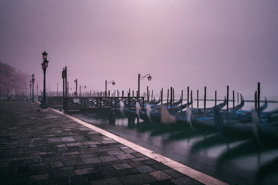Venetian Morning at San Marco by Suleyman Derekoy