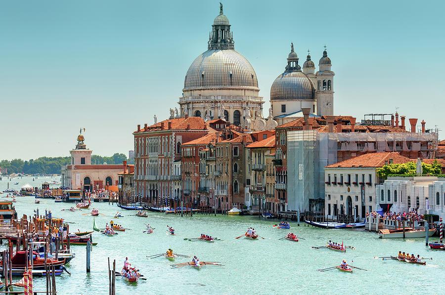 Venetian Regatta Photograph by Rory Mcdonald
