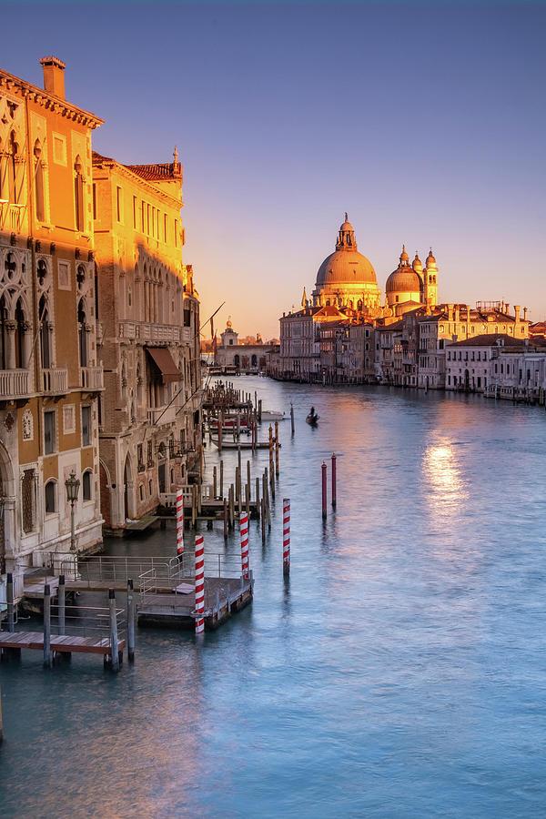 Venice aglow by Susan Leonard