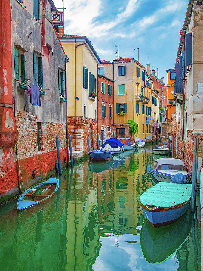Venice Canal Scene by Lowell Monke