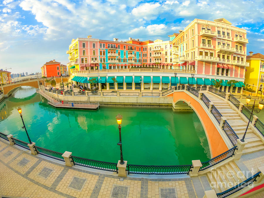 Venice Doha The Pearl by Benny Marty
