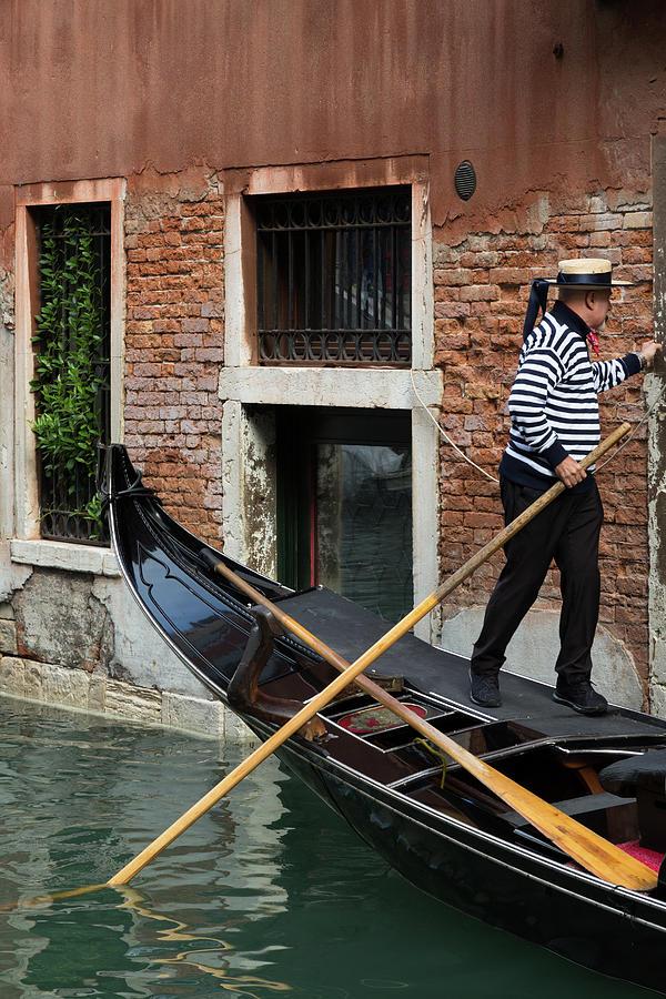 Venice Gondolier by John Daly