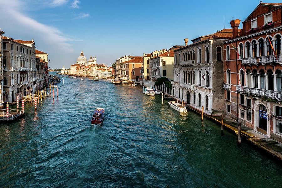 Venice Photograph - Venice Grand Canal by Andrei Dima