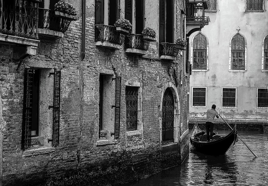 Venice in Black and White by Robert Blandy Jr