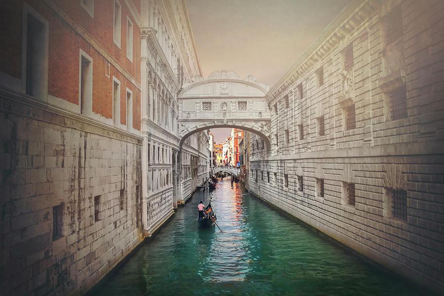 Bridge Of Sighs Photograph - Venice Italy Bridge Of Sighs  by Carol Japp