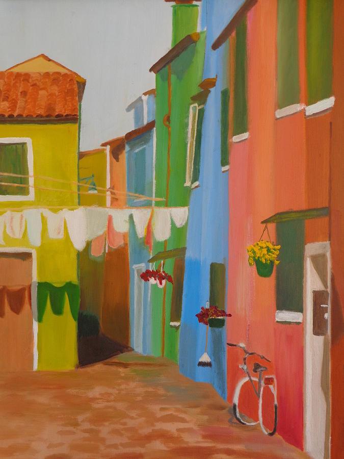 Venice Neighborhood  by Maureen Obey