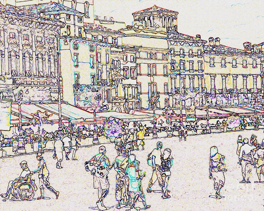 Verona by Jodie Marie Anne Richardson Traugott          aka jm-ART