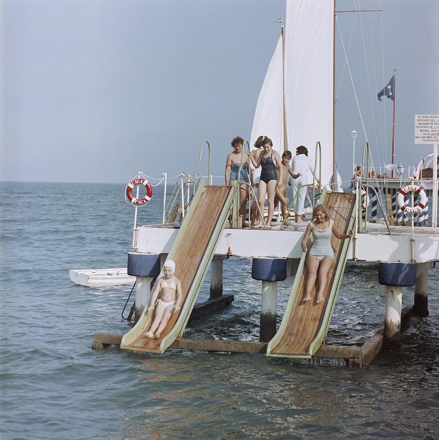 Venice Vacation Photograph by Slim Aarons
