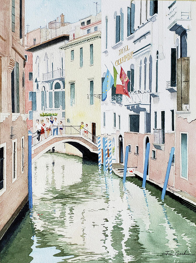 Venice Visitors by Jim Gerkin