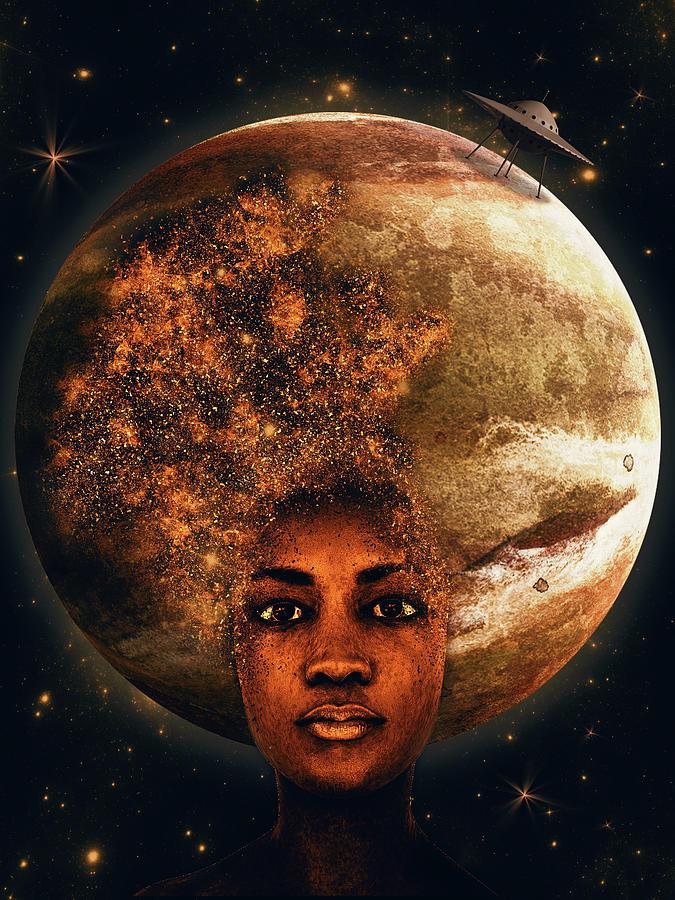 Venus Or The Landing Digital Art