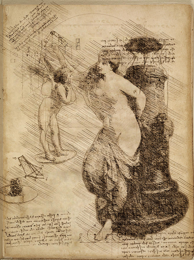 Venus Weigh Cupid by Alex Mir